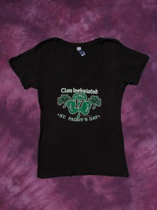 Clan Inebriated Women's St Paddys T-Shirt