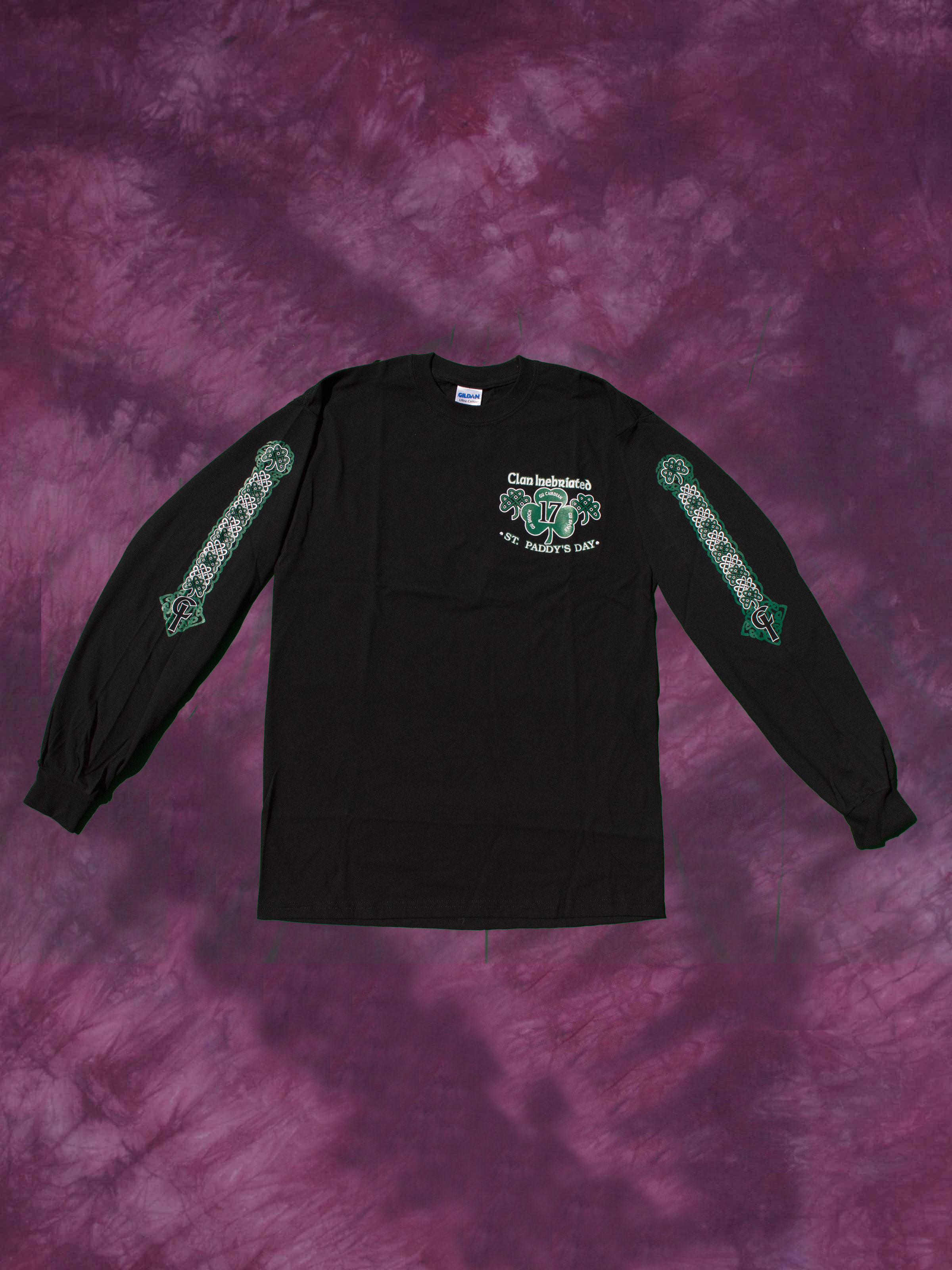 Clan Inebriated StPaddys Mens Long Sleeve