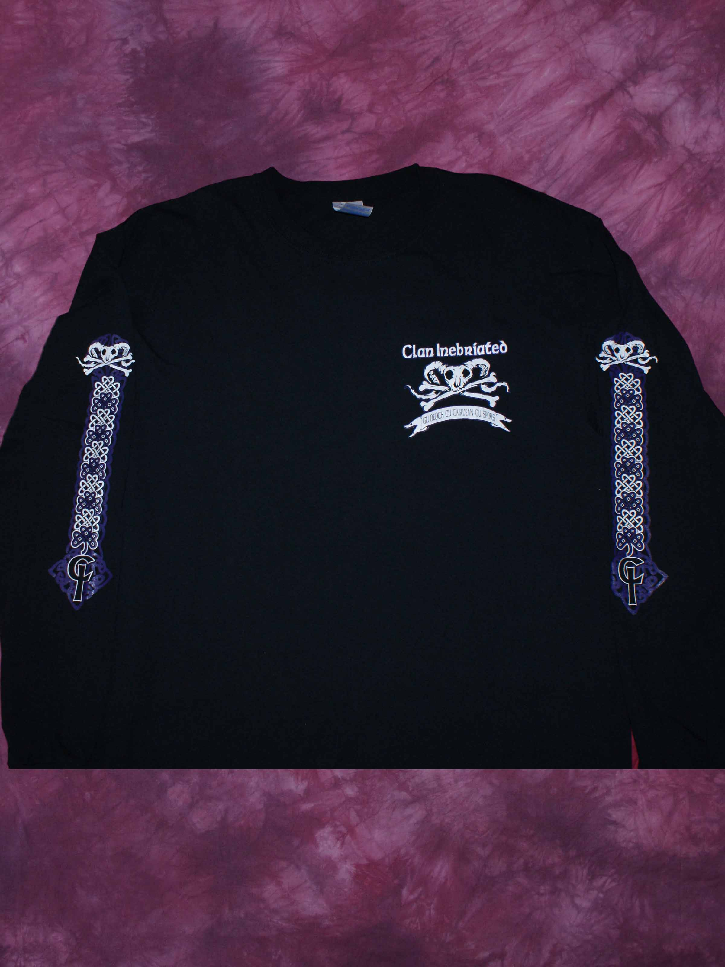 Clan Inebriated Mens Long Sleeve