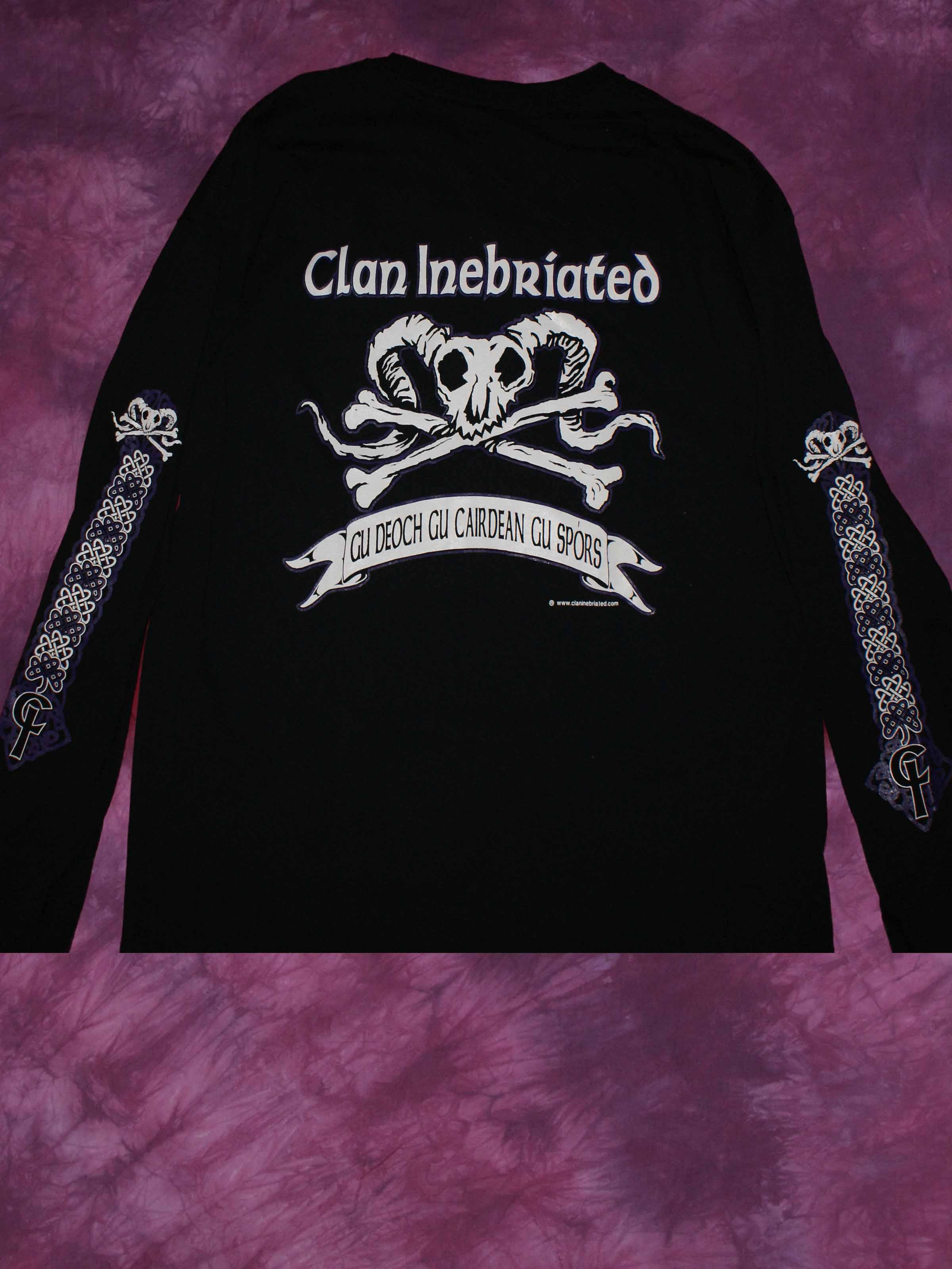 Clan Inebriated Mens Long Sleeve
