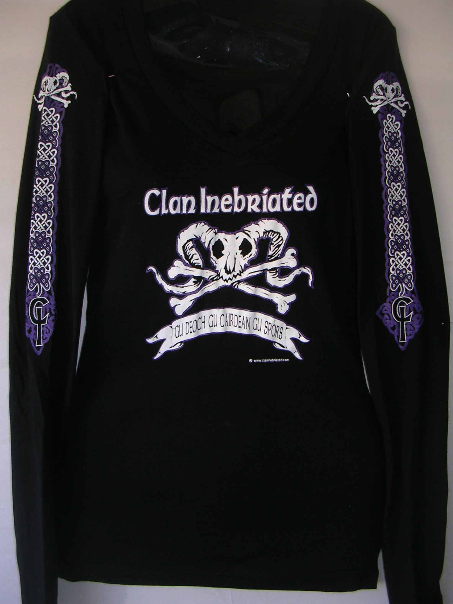 Clan Inebriated Pirate Women's Long Sleeve