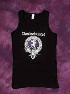 Clan Inebriated Crest Badge Women's Tank